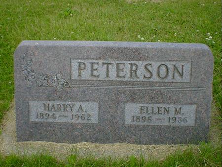 PETERSON, HARRY A. - Cerro Gordo County, Iowa | HARRY A. PETERSON
