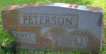PETERSON, RUBY I. - Cerro Gordo County, Iowa | RUBY I. PETERSON