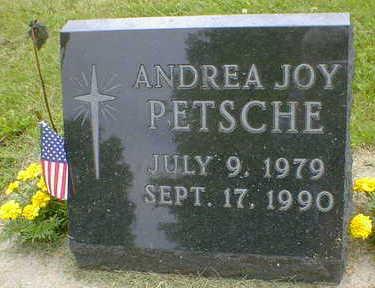 PETSCHE, ANDREA JOY - Cerro Gordo County, Iowa | ANDREA JOY PETSCHE