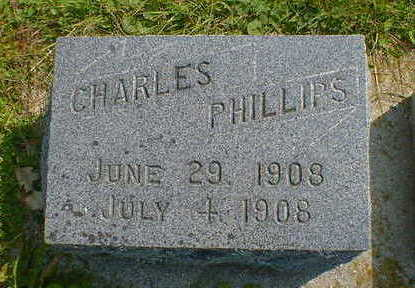 PHILLIPS, CHARLES - Cerro Gordo County, Iowa | CHARLES PHILLIPS