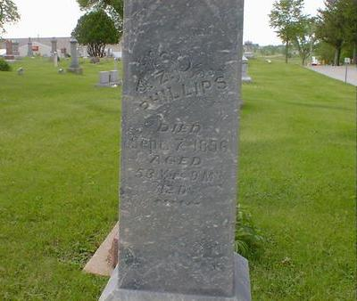 PHILLIPS, Z. - Cerro Gordo County, Iowa | Z. PHILLIPS