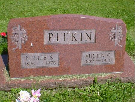 PITKIN, AUSTIN O. - Cerro Gordo County, Iowa | AUSTIN O. PITKIN