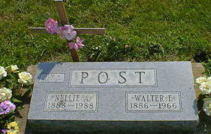 POST, NELLIE ADA (STEWART) - Cerro Gordo County, Iowa | NELLIE ADA (STEWART) POST