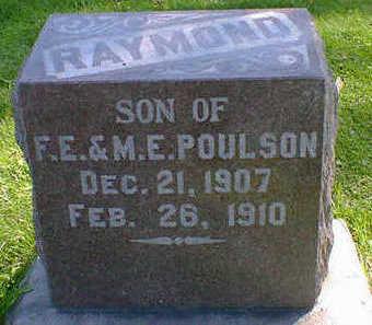 POULSON, RAYMOND - Cerro Gordo County, Iowa | RAYMOND POULSON