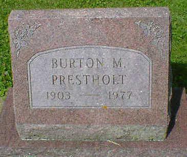 PRESTHOLT, BURTON M. - Cerro Gordo County, Iowa | BURTON M. PRESTHOLT