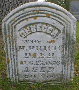 PRICE, REBECCA - Cerro Gordo County, Iowa | REBECCA PRICE