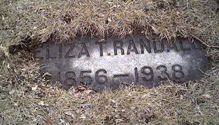 RANDALL, ELIZA - Cerro Gordo County, Iowa | ELIZA RANDALL