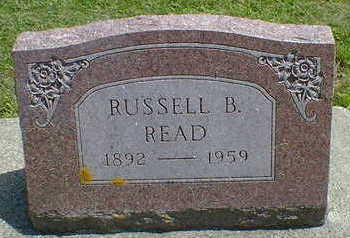 READ, RUSSELL B. - Cerro Gordo County, Iowa | RUSSELL B. READ