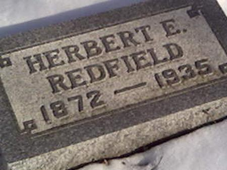 REDFIELD, HERBERT - Cerro Gordo County, Iowa | HERBERT REDFIELD