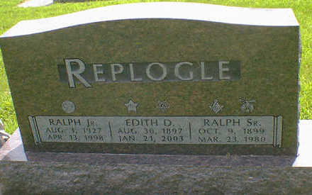 REPLOGLE, RALPH SR. - Cerro Gordo County, Iowa | RALPH SR. REPLOGLE