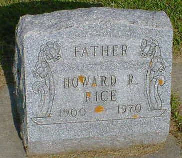 RICE, HOWARD R. - Cerro Gordo County, Iowa | HOWARD R. RICE