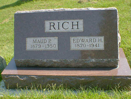 RICH, EDWARD H. - Cerro Gordo County, Iowa | EDWARD H. RICH