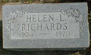 RICHARDS, HELEN L. - Cerro Gordo County, Iowa | HELEN L. RICHARDS
