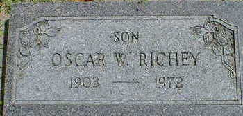 RICHEY, OSCAR W. - Cerro Gordo County, Iowa | OSCAR W. RICHEY
