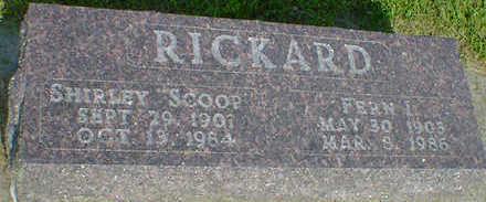 RICKARD, FERN I. - Cerro Gordo County, Iowa | FERN I. RICKARD