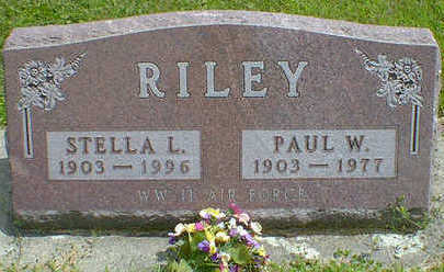 RILEY, PAUL W. - Cerro Gordo County, Iowa | PAUL W. RILEY