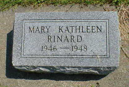RINARD, MARY KATHLEEN - Cerro Gordo County, Iowa | MARY KATHLEEN RINARD
