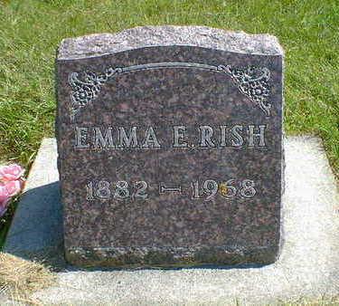 RISH, EMMA E. - Cerro Gordo County, Iowa | EMMA E. RISH
