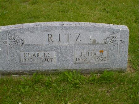 RITZ, CHARLES - Cerro Gordo County, Iowa | CHARLES RITZ