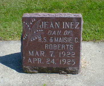 ROBERTS, JEAN INEZ - Cerro Gordo County, Iowa | JEAN INEZ ROBERTS