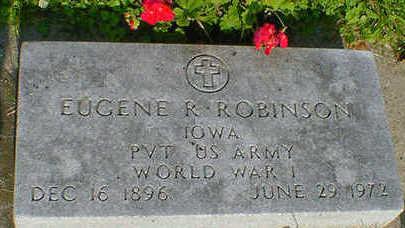 ROBINSON, EUGENE R. - Cerro Gordo County, Iowa | EUGENE R. ROBINSON