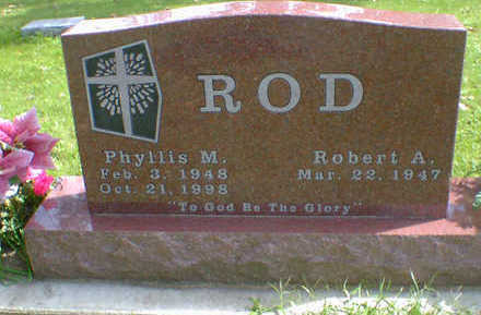 ROD, PHYLLIS M. - Cerro Gordo County, Iowa | PHYLLIS M. ROD
