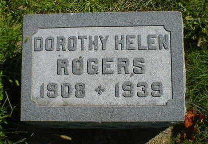 ROGERS, DOROTHY HELEN - Cerro Gordo County, Iowa | DOROTHY HELEN ROGERS