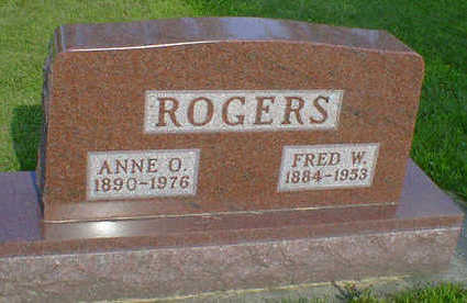 ROGERS, ANNE O. - Cerro Gordo County, Iowa | ANNE O. ROGERS
