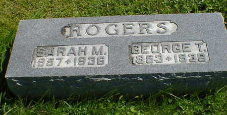 ROGERS, GEORGE T. - Cerro Gordo County, Iowa | GEORGE T. ROGERS