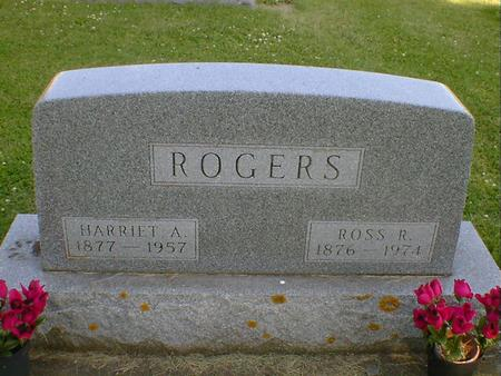 ROGERS, HARRIET A. - Cerro Gordo County, Iowa | HARRIET A. ROGERS