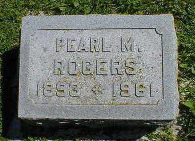 ROGERS, PEARL M. - Cerro Gordo County, Iowa | PEARL M. ROGERS