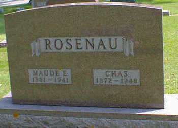 ROSENAU, CHAS. - Cerro Gordo County, Iowa | CHAS. ROSENAU