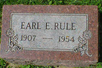 RULE, EARL E. - Cerro Gordo County, Iowa | EARL E. RULE
