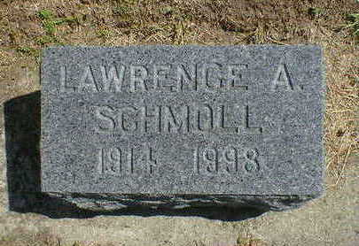 SCHMOLL, LAWRENCE A. - Cerro Gordo County, Iowa | LAWRENCE A. SCHMOLL