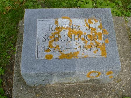 SCHONHOOD, RAGNA J. - Cerro Gordo County, Iowa | RAGNA J. SCHONHOOD