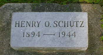 SCHUTZ, HENRY O. - Cerro Gordo County, Iowa | HENRY O. SCHUTZ