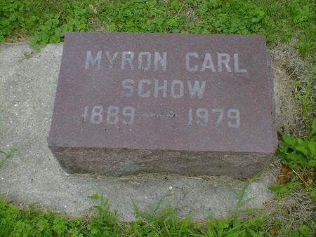 SCHOW, MYRON CARL - Cerro Gordo County, Iowa | MYRON CARL SCHOW