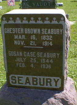 SEABURY, CHESTER BROWN - Cerro Gordo County, Iowa | CHESTER BROWN SEABURY