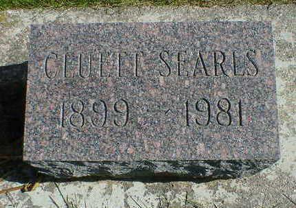 SEARLS, CLUETT - Cerro Gordo County, Iowa   CLUETT SEARLS