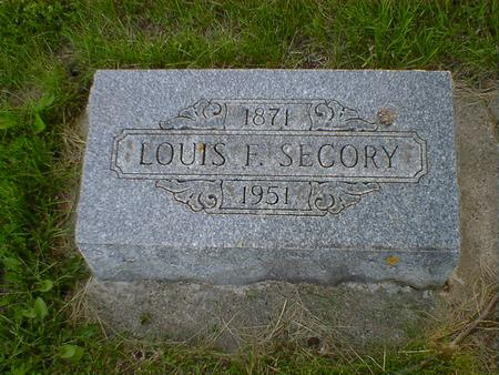 SECORY, LOUIS F. - Cerro Gordo County, Iowa | LOUIS F. SECORY