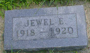 SEEGER, JEWELL E. - Cerro Gordo County, Iowa | JEWELL E. SEEGER