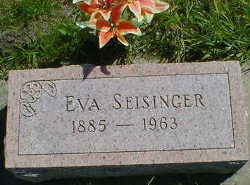 SEISINGER, EVA - Cerro Gordo County, Iowa | EVA SEISINGER