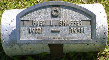 SHAFFER, FRED I. - Cerro Gordo County, Iowa | FRED I. SHAFFER