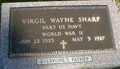 SHARP, VIRGIL WAYNE - Cerro Gordo County, Iowa | VIRGIL WAYNE SHARP