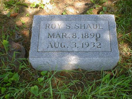 SHAUL, ROY S. - Cerro Gordo County, Iowa | ROY S. SHAUL