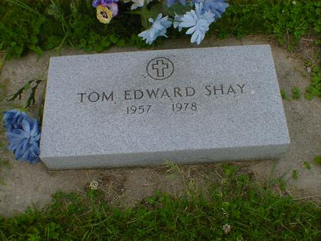 SHAY, TOM EDWARD - Cerro Gordo County, Iowa | TOM EDWARD SHAY