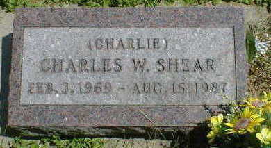 SHEAR, CHARLES W. - Cerro Gordo County, Iowa | CHARLES W. SHEAR