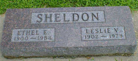 SHELDON, ETHEL E. - Cerro Gordo County, Iowa | ETHEL E. SHELDON