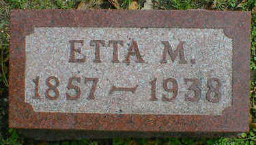 SHERMAN, ETTA M. - Cerro Gordo County, Iowa | ETTA M. SHERMAN