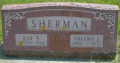 SHERMAN, RAY W. - Cerro Gordo County, Iowa | RAY W. SHERMAN